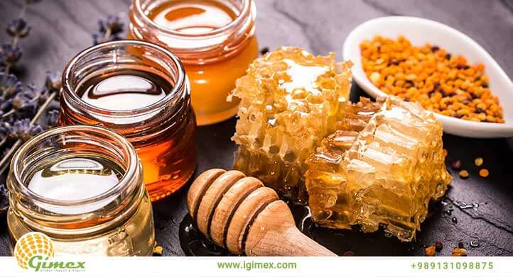 انواع عسل صادراتی