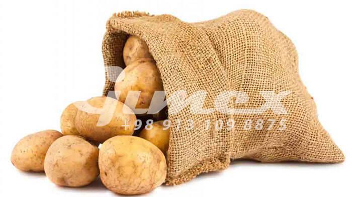سیب زمینی صادراتی با کیفیت